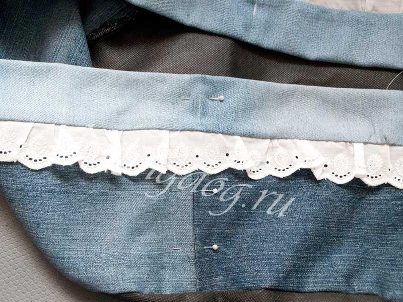 шьем из старых джинсов